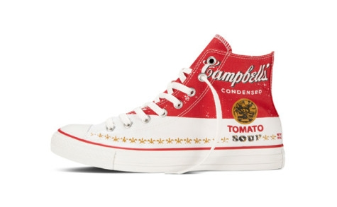Converse All Star Andy Warhol  帆布當畫布