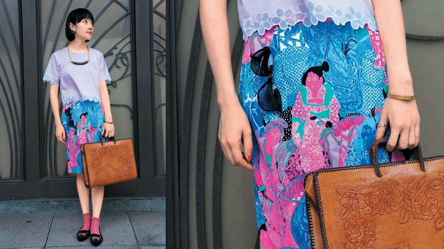 Look of the day – China Doll