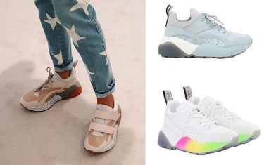Dad Sneakers太Man?!Stella McCartney粉色Dad Sneakers 俘虜少女心