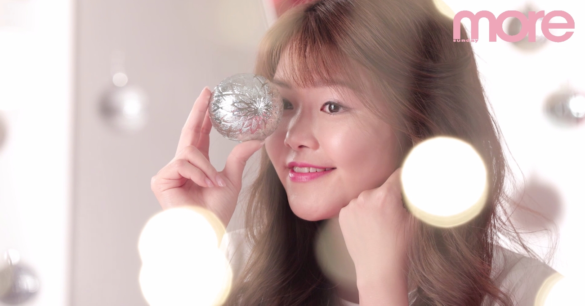 聖誕閃亮妝容