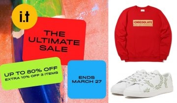 【低至2折!】i.t ITeSHOP年度激安The Ultimate Sale 必掃STYLENANDA、Fred Perry等多個設計師品牌!