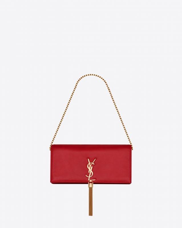 Saint Laurent紅色手袋