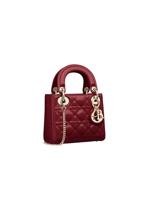 Dior紅色手袋