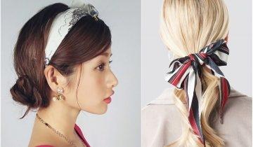 頭飾造型推薦2020 長髮馬尾、短髮瀏海女生都能輕鬆駕馭的頭箍、髮帶