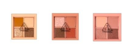 MINI MULTI EYE COLOR PALETTE (MIX) 9 一盒備有閃粉及啞色選擇,輕鬆打造日常及假日妝容,是不可缺少的美妝必需品。