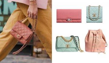 26款2020CHANEL春夏粉色系列手袋、銀包 優雅又活潑!