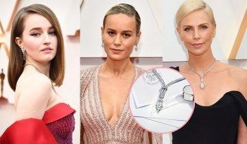奧斯卡2020金像獎珠寶晚裝裙造型女星齊鬥閃  Charlize Theron戴Tiffany &Co. 21卡鑽石最搶眼