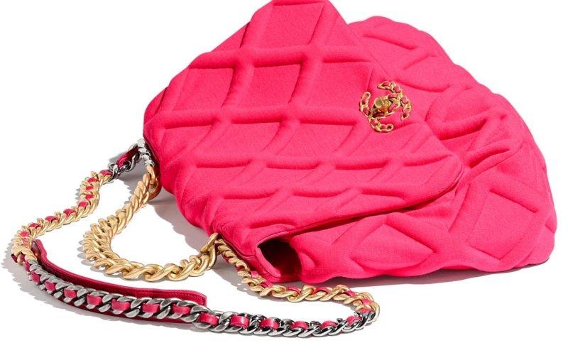 Chanel 2020粉紅色手袋,復古藤籃,獨角獸