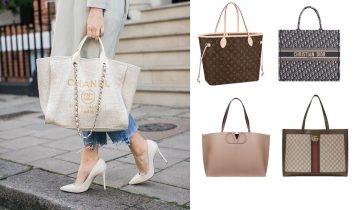 2020名牌春夏Tote Bag大容量又實用 28款Chanel 、Gucci…等必入手品牌推介