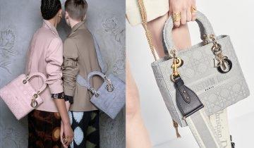 Dior手袋2020 Lady D-Lite屬於堅強女生的標誌