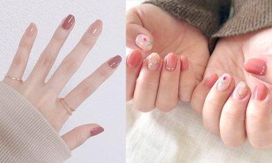 春日必備15款柔粉色美甲推薦:顯白、溫柔又吸睛 讓你氣質盡現!