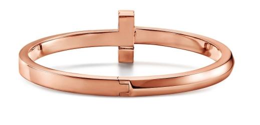 Tiffany推出全新T1珠寶系列 18k玫瑰金+鑽石 低調簡約又奢華