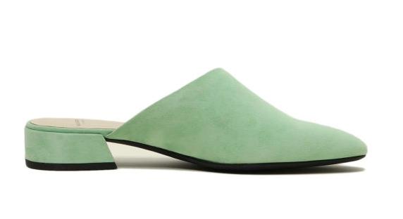 ITeSHOP網購優惠2020,OL平底鞋,白波鞋,顯高,顯腿長,增高