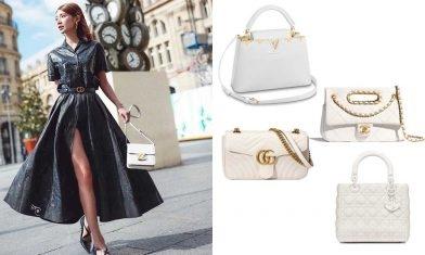 25款2020名牌白色手袋 簡約優雅又高貴 最平$10,300入手