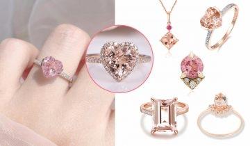 10款夢幻粉紅摩根石首飾推介 增強桃花運及人緣的最強功效「愛情石」