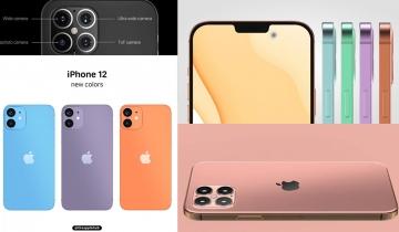 iPhone 12全新粉嫩色、價錢、設計6大秘密曝光!2020推變幼「M字額」螢幕更大