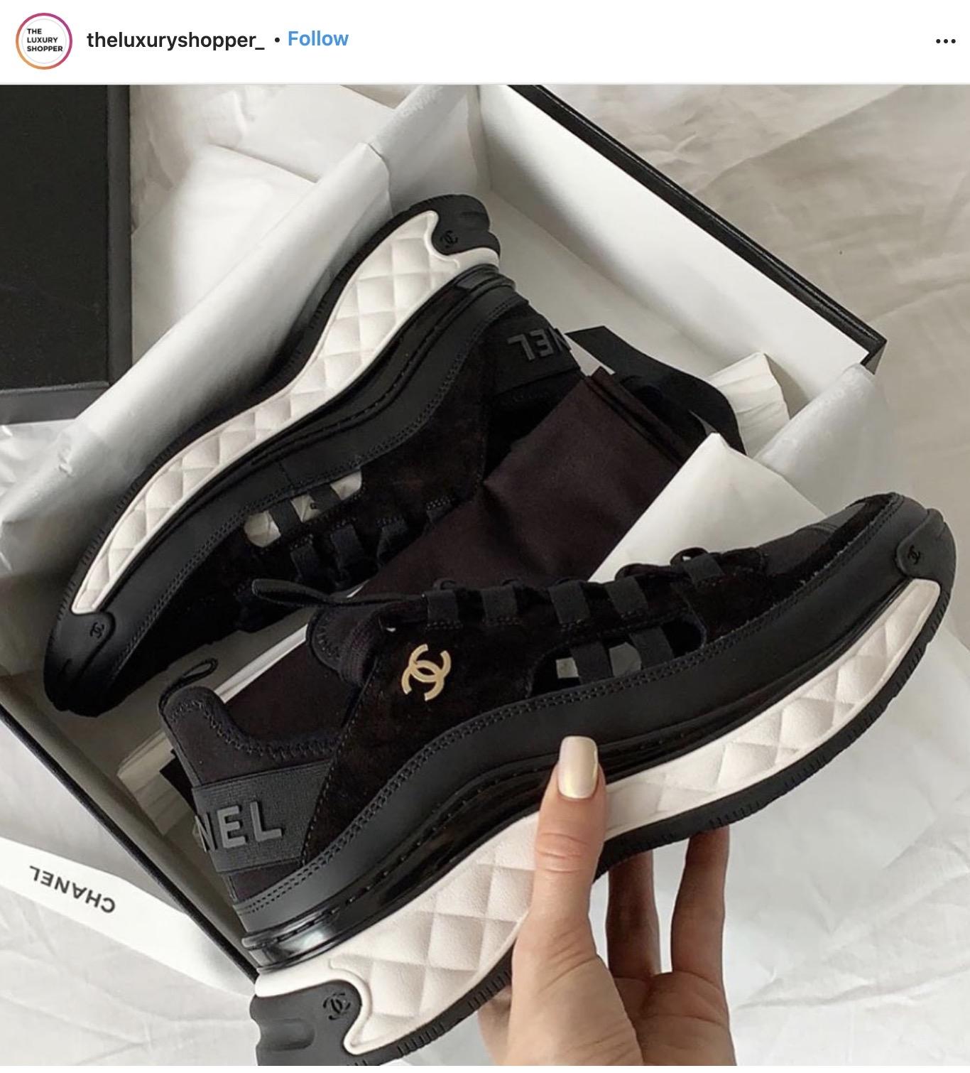 Chanel, 增高波鞋, 長腿, 2020, Chanel波鞋, 增高, 波鞋