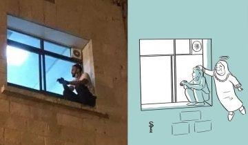 【新冠肺炎】巴勒斯坦孝子排除萬難 每晚爬窗陪伴病母直至離世
