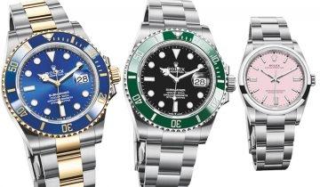 Rolex 2020新款腕錶登場 勞力士SUBMARINER水鬼加大1mm+藍圈、綠圈黑面極搶鏡!