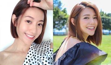 及肩短髮2021: 圓臉型女生顯小臉中長髮造型 必學陳自瑤、黃翠如、楊丞琳