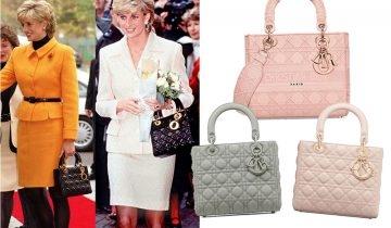 Lady Dior「戴妃手袋」全球比價 相差過萬元!戴安娜王妃生前最愛它:3件不得不知的事 Dior竟為她…