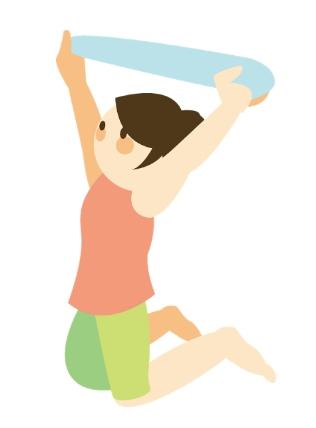 毛巾操, 放鬆筋骨, 肩頸痛, 改善寒背