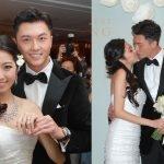 2011年11月11日上午11時,王浩信跟YoYo奉女成婚