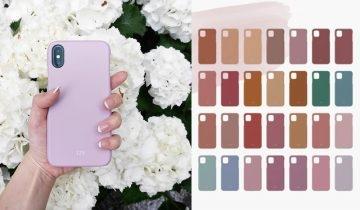 日本366日誕生色手機殻 設計簡約獨一無二 找出屬於你的專屬顏色