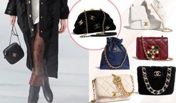 Chanel秋冬手袋2020|25款必買新袋款:菱格紋小方袋、絲絨雲朵包、鏈帶束口袋