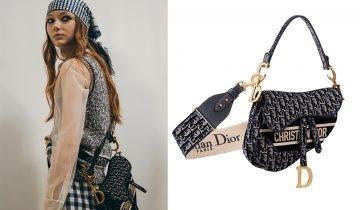 2020秋冬Dior手袋配飾  必睇最新手袋、手袋肩帶、小皮具及首飾