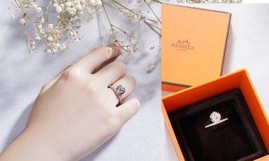 Hermes結婚戒指系列+$6,300起17大戒指款推薦:一見傾心超可愛王冠求婚鑽戒!