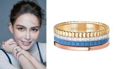 15款Boucheron型格結婚戒指推介 必睇最新貴族藍陶瓷戒指