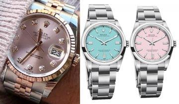 11款Rolex Pastel手錶盤點 Datejust、Oyster Perpetual 保值百搭 必入淡粉紅、Tiffany Blue
