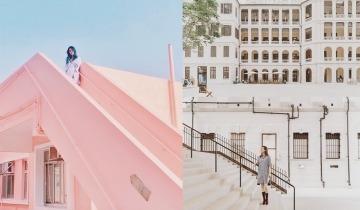 香港影相好去處2021!12個IG人氣打卡位推介:粉紅色天台+觀塘藍色圈圈牆