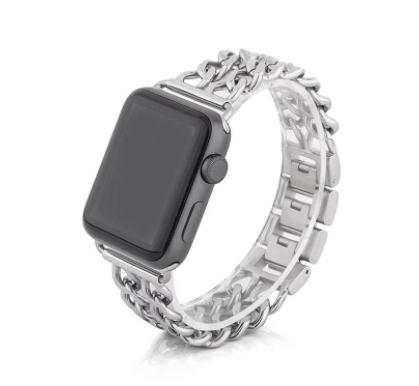 Apple Watch 双链不鏽钢錶带 (图片来源:Apeel Studio官网)