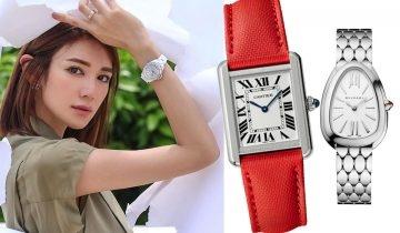 Cartier、Piaget等5大保值名錶品牌 30+女人提升品味必備之選
