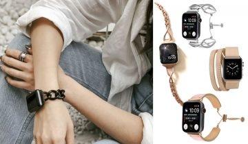 5間Apple Watch錶帶IG店推介 皮帶、鏈帶、民族編織帶簡單又時尚 最平不用$100