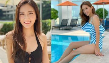 樂宜黑色穿窿水著曬身材!13位女藝人泳衣照派福利