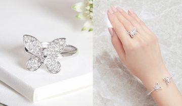 鑽石之王GRAFF推出Butterfly系列蝴蝶珠寶 展現入門高級品味