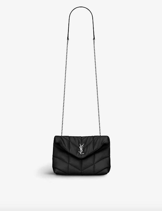 Loulou Puffer monogram leather Shoulder bag