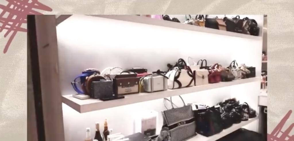 大量名牌包包(圖片來源:蔡佳芸@RED)