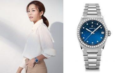 Zenith DEFY Midnight系列女裝錶 首次為現代專業女性而設