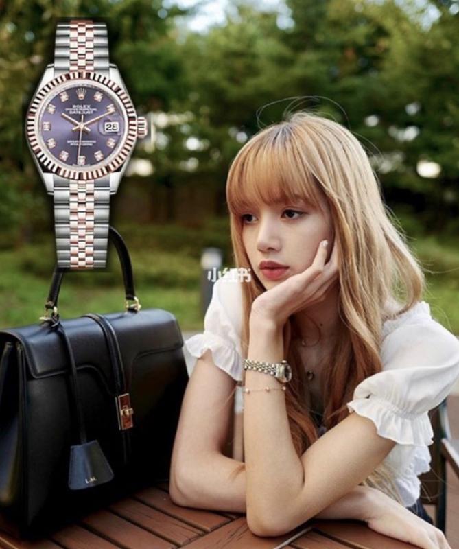 【Lisa同款名錶】23歲BLACKPINK Lisa 堪稱「人間富婆」擁過百萬Rolex、卡地亞、BVLGARI名錶!