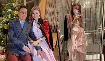 50歲李嘉欣染幻彩粉紅髮色 被網民彈扮後生公主