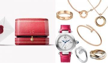 【免運費派送】網購15款最期待收到的Cartier聖誕禮物