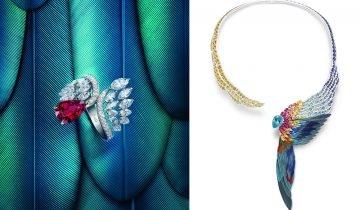 【大師級鑲嵌工藝】Piaget全新Wings of Light高級珠寶腕錶系列