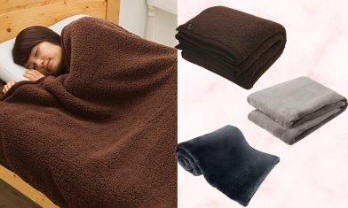 毛毯Top15保暖推薦:日本評選MUJI、UNIQLO、IKEA…耐用舒適兼最暖是它!