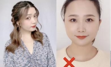 瘦臉髮型4種綁法推介 簡單容易快速上手:顯臉小、臉圓女生救星!