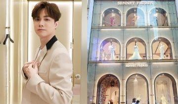張敬軒獨家專訪揭婚姻觀:疫市開8千呎婚紗店SENNET FRÈRES 百年品牌70年後重返香港!