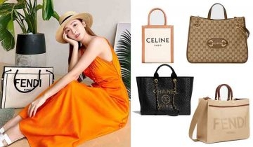 Celine全新帆布包Plein Soleil!細數10款名牌Tote Bag ( Chanel、Gucci、Dior)
